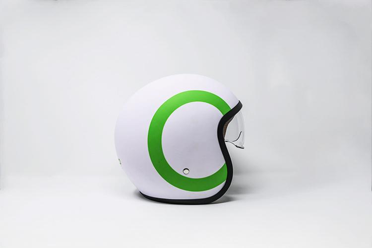 SILENCE S01 accessori: casco bianco