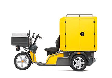 kyburz dxc cargo giallo poste