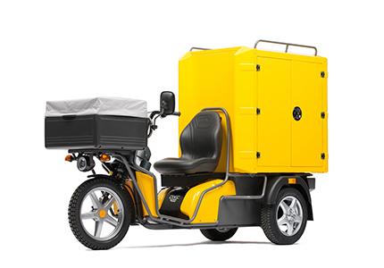 kyburz dxc cargo box poste