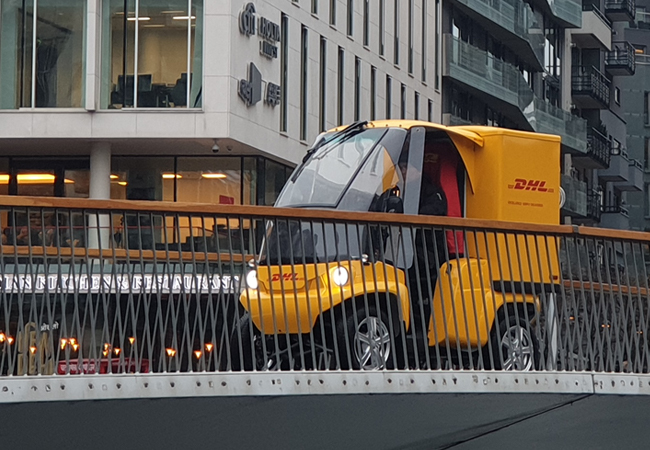 paxster dhl corriere